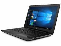 HP 17.3in Business LAPTOP 3.1Ghz 8GB 1TB DVDRW Win 10 Black