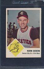 1963 Fleer #017 Norm Siebern A's VG/EX *238