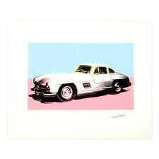Andy Warhol Mercedes 300 SL original Lithografie signiert handnummeriert CMOA