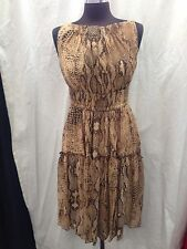 ANNE KLEIN DRESS/NEW WITH TAG/RETAIL$129/SIZE 8/LINED/ LENGTH 40'/shiffon FABRIC