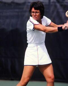 U.S. Tennis Legend BILLIE JEAN KING Glossy 8x10 Photo Print Poster