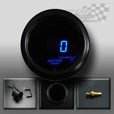 """Température de l'eau/temp gauge 2""""/52mm fumé visage universel pour custom dash pod"""