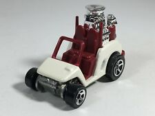 Hot Wheels 1999 Tee'd Off Golf Car Cart Pearl White HW First Editions Malaysia