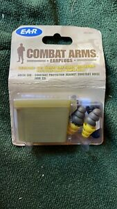 Combat Arms Earplugs British Army EAR Plugs NEW
