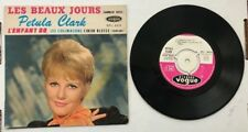 RARE FRENCH EP PETULA CLARK LES BEAUX JOURS 2nd SLEEVE