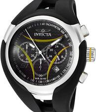 Invicta1605 S1Nitro Chronograph Black Carbon Fiber Dial Black Polyurethane Strap