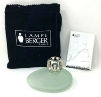 Lampe Berger LPE Pebble Green Frosted Made in France Manual,Burner,Lamp 114329