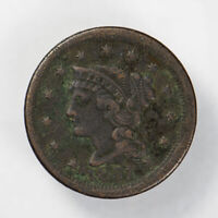 1851 BRAIDED HAIR 1C LARGE CENT ** NICE DETAIL Lot#J061
