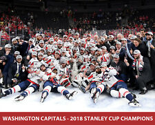 Washington Capitals - 2018 Stanley Cup Champions, 8x10 Victory Team Photo