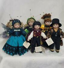 Marie Osmond Beauty Bug Ball Porcelain Dolls Set of 6