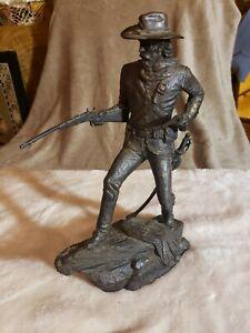 Bronze Sculpture The Calvaryman by Jim Ponter 1984 Western Heritage Museum
