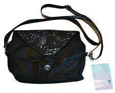 NWT Ivivva by Lululemon Moon Gem Bag Black Cosmic Paisley Festival Crossbody NEW