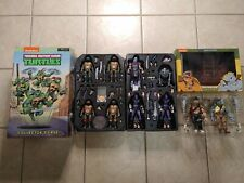 NECA TMNT Lot (2017 SDCC) w/Carrying Case and Bebop and Rocksteady 2 Pack!!