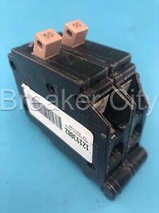 Cutler Hammer CH250 50 Amp 2 Pole CH Circuit Breaker 120/240VAC Plastic Feet
