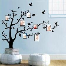 Black Tree Wall Decal Sticker Family Quote Photo Frame Home Decor Large Au@@ Part 85