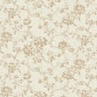 Classic Beauty Cream Floral Print by Quilt Gate-BTY