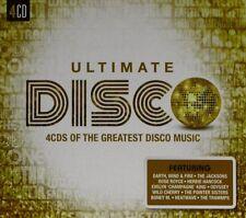 ULTIMATE...DISCO  4 CD NEW+