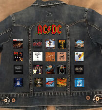 ACDC Battle Jacket/Vest with 20 Patches