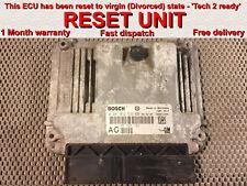 Vauxhall Opel Vectra C 1.9 CDTI ECU 0281012533 AG 55197152 *RESET* / Plug & Play