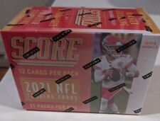 2021 Panini Score NFL Football 132 Card Blaster Box  Factory Sealed