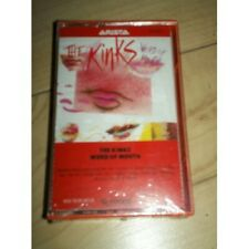 The Kinks- Word of Mouth- new/sealed cassette tape