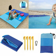New Large Waterproof Picnic Blanket Rug Outdoor Camping Beach Mat + Bag AU