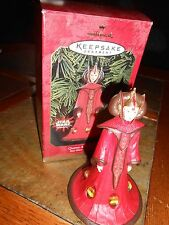 Hallmark Keepsake Queen Amidala Star Wars Ornament new in box 1999
