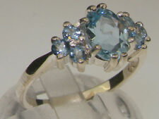 Unbranded Natural Aquamarine Sterling Silver Fine Jewellery