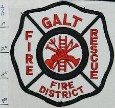 MISSOURI, GALT FIRE PROTECTION DISTRICT RESCUE PATCH
