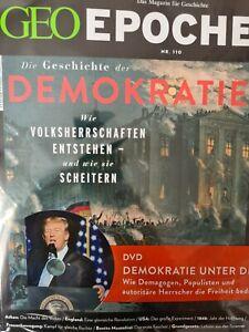 Geo Epoche + DVD Nr. 110 / Die Geschichte der Demokratie  - Nagelneu