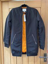 New Adidas Long Bomber Jacket XS