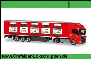 Herpa 310031 H0 Iveco Stralis Sped. Michel Wemding Refrigerated