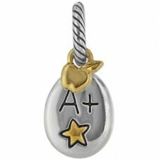 NEW BRIGHTON BEST TEACHER A+ APPLE STAR ABC CHARM PENDANT
