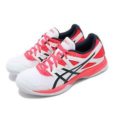 Asics Gel-Task 2 White Diva Pink Womens Volleyball Badmintion Shoes 1072A038-101