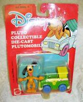 Vintage Disney Diecast Pluto and Car Plutomobile NIP