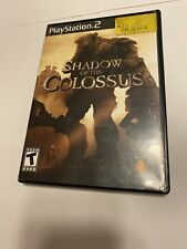 Shadow of the Colossus (Sony PlayStation 2 PS2, 2006) COMPLETE CIB Black Label
