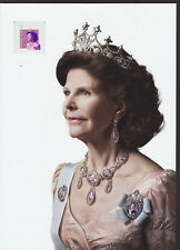 Sweden 2020 MNH - Queen Silvia - collector´s sheet with 1 stamp
