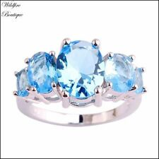 Topaz Stone Fashion Rings