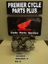 1984 HONDA MAGNA V 65C REMANUFACTURED KEIHIN CARBS CARBURETORS READY TO RUN