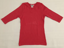 Hardtail Girls 3/4 Sleeve Pink Tshirt Size 10-12