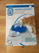 FRESH & CLEAR CAT IT DRINKING FOUNTAIN WITH FOOD BOWL