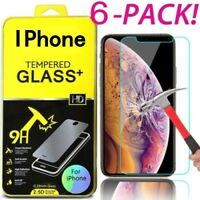 Tempered Glass Protective Screen Protector Film for iPhone XS Max 6S/7/8 Plus