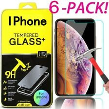 6X закаленное стекло защитный экран протектор пленка для iPhone 11 Pro Max 6S/7/8+