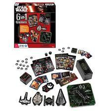 Star Wars 6 in 1 Game Children/Kids Classic Card Racing Dice Bingo Dominoes Game