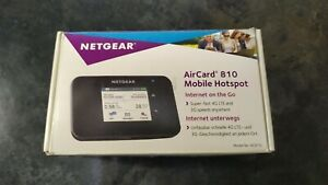 Netgear AirCard 810, Mobiler WLAN Router, 4G LTE Router,Hotspot bis zu 15 Geräte