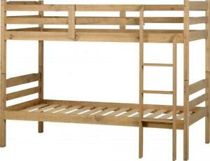 Distressed Pine Wooden Bunk Bed Frame *BRAND NEW*