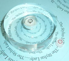 Two Turntable Spirit Bubble levels for Setting up Tonearms, Spindle *** SALE***