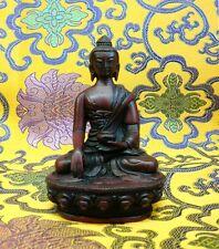 BUDDHA SHAKYAMUNI Tibetan Statue Handmade from Nepal Resin 4.5 Inch