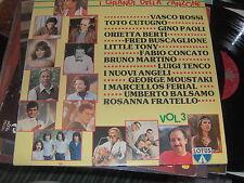 """LP 12"""" I GRANDI DELLA CANZONE VOL.3 LOTUS VASCO ROSSI IO NON SO PIU COSA FARE NM"""