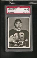1961 Topps CFL# 19 Gene Filipski PSA 6 Ex-Mt